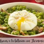 Eggs a la bilbaína with Thermomix