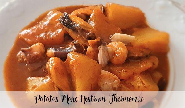 Potatoes Mare Nostrum Thermomix