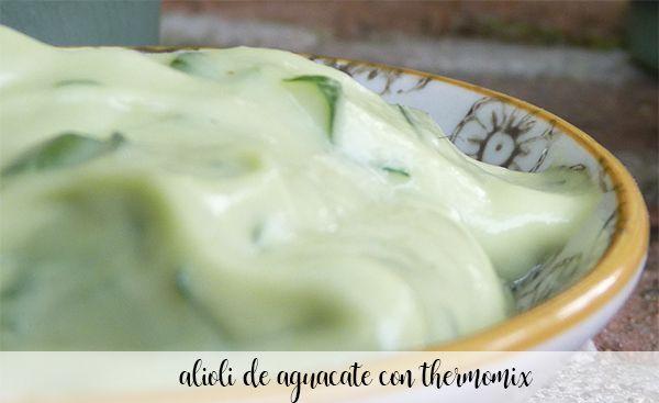 Avocado aioli with Thermomix