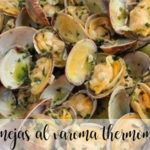 clams with varoma with thermomix