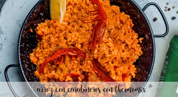 Rice with prawns with Thermomix