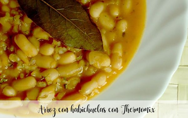 Rice with beans with Thermomix