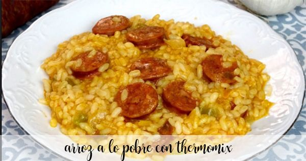 Poor rice with Thermomix