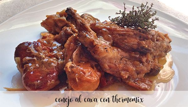 Rabbit in cava with Thermomix