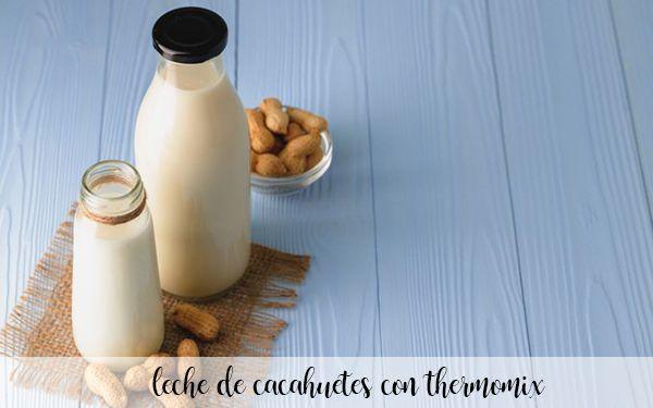 peanut milk with thermomix
