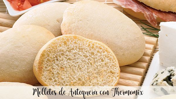 Antequera muffins with Thermomix
