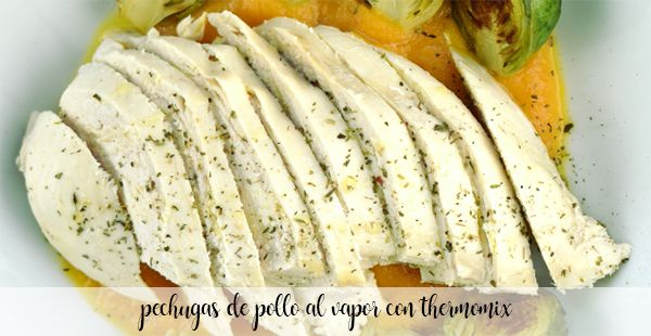 steamed chicken breasts with thermomix