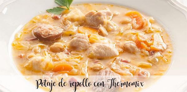 Cabbage stew with Thermomix