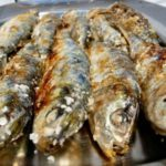 Salted sardines with varoma with thermomix