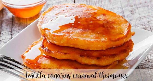 Canarian Carnival Tortillas Thermomix