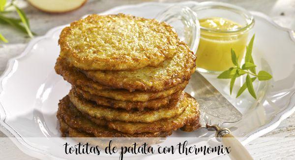 potato pancakes with thermomix