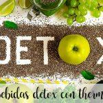 10 DETOX drinks with thermomix to improve your health