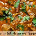 Lamb with coconut milk with Thermomix