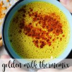 Golden milk with thermomix