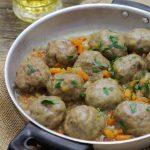Meatballs with beer with Thermomix