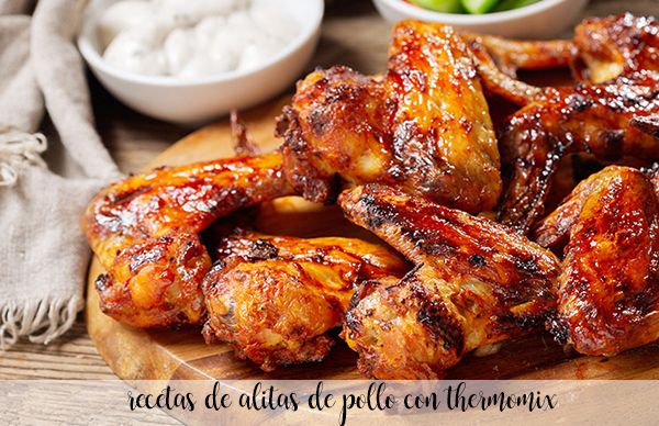 25 chicken wings recipes with thermomix