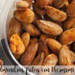 Fried almonds with Thermomix