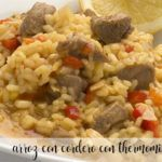 rice with lamb thermomix