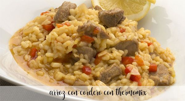 Lamb rice with thermomix