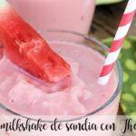 Watermelon milkshake with Thermomix