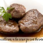Beer cheeks with Thermomix