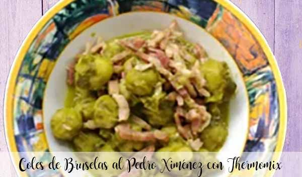 Brussels sprouts with Pedro Ximénez with Thermomix