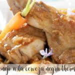 Rabbit with black beer with Thermomix