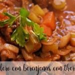 Lamb with aubergines with Thermomix