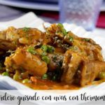 Lamb stewed with grapes with thermomix