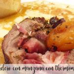 Lamb with apple with Thermomix