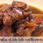 Lamb in red wine with Thermomix