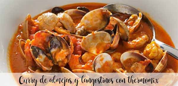 Clam and prawn curry with thermomix