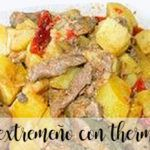 Extremadura frite with thermomix
