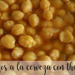 Chickpeas with beer with Thermomix
