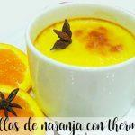 orange custard with thermomix