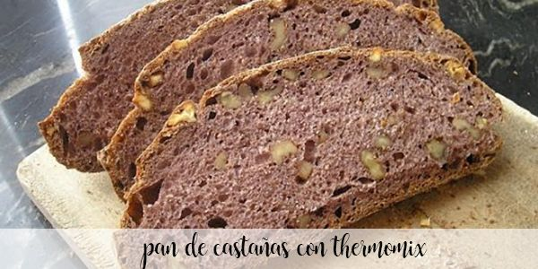 Chestnut and walnut bread with Thermomix