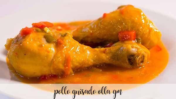 Stewed chicken with GM pot