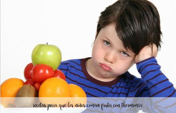 25 recipes for children to eat fruit with thermomix
