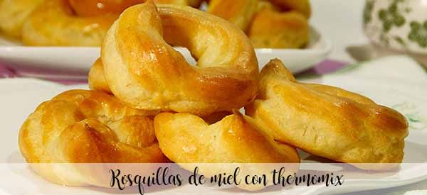Honey donuts with thermomix