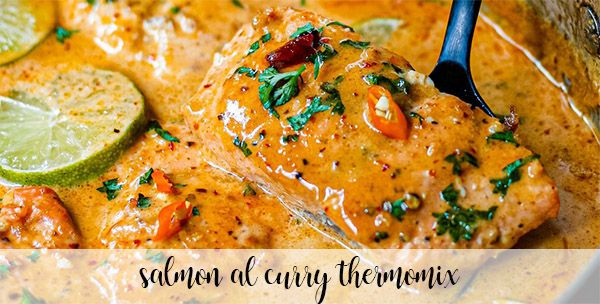 Salmon curry with thermomix