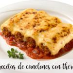 10 recipes for cannelloni with thermomix
