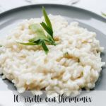 10 risottos with thermomix