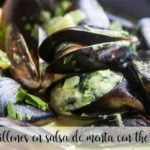 Mussels in mint sauce with thermomix
