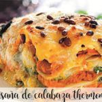 Pumpkin lasagna with Thermomix