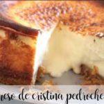 Cristina Pedroche's cheese cake with thermomix
