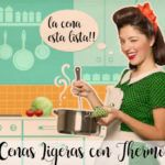 75 light dinners with Thermomix
