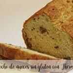 Gluten-free walnut cake with Thermomix