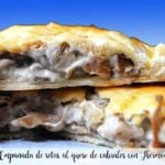Mushroom pie with cabrales cheese with Thermomix