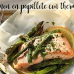 Salmon al papillote with Thermomix
