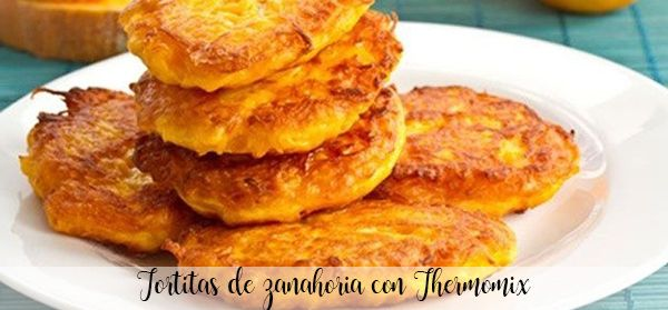 Carrot pancakes with Thermomix